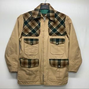 NEW Eddie Bauer Size L? Down Lined Canvas Jacket